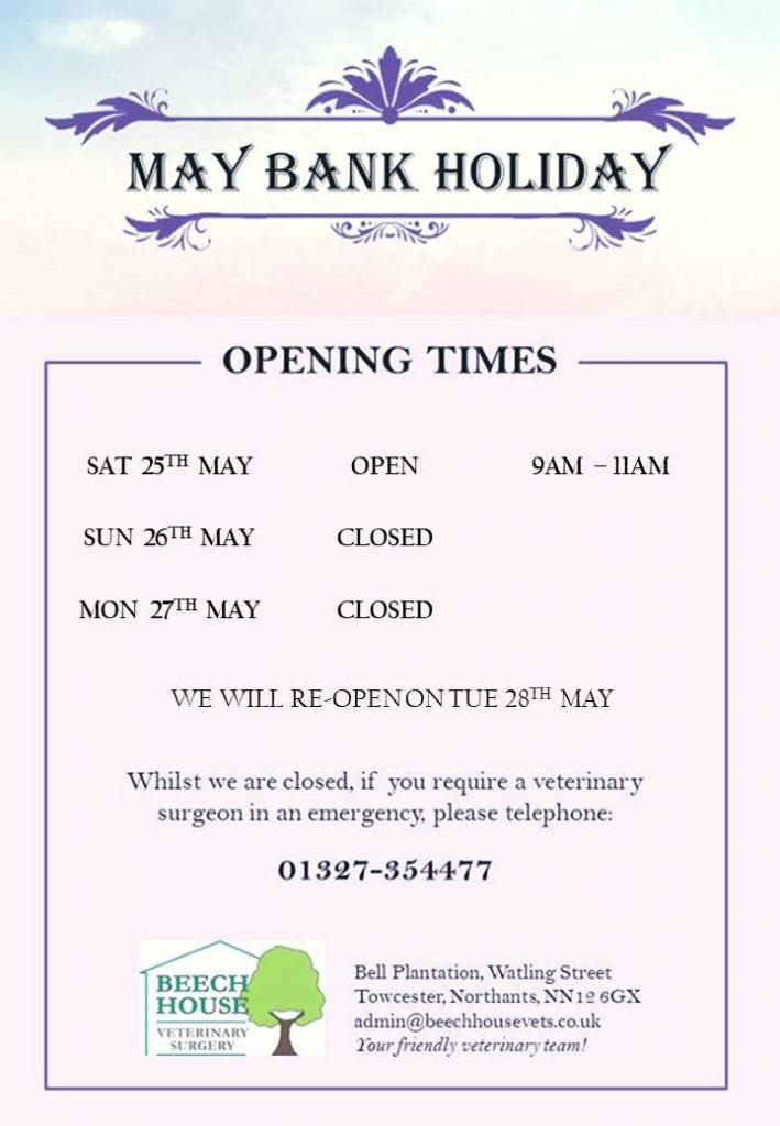 May Bank Holiday 2